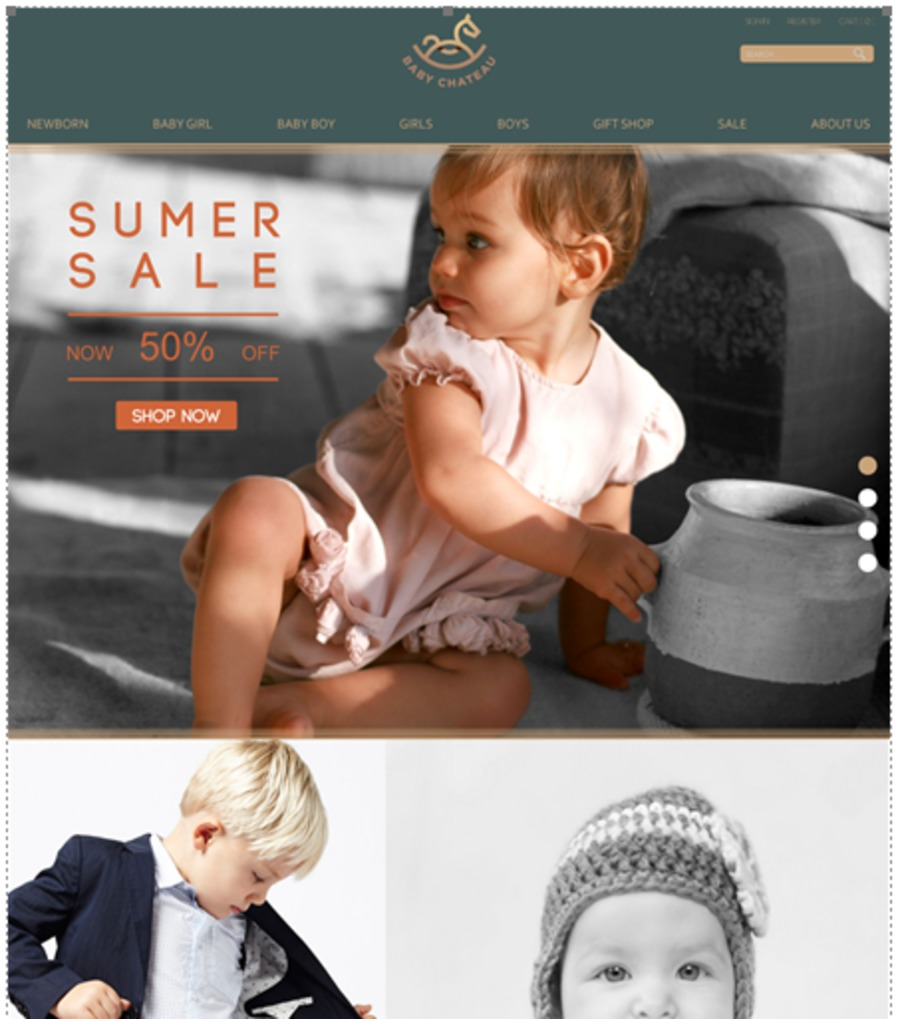 A great web design by Lost in the Fog Design , Little Rock, AR: