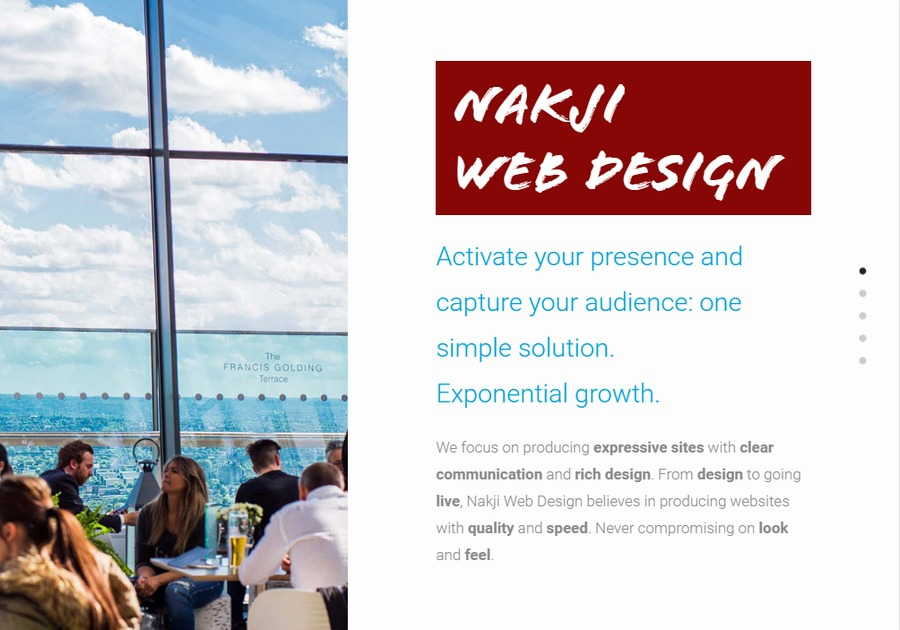 A great web design by Nakji Web Design, San Diego, CA: Responsive Website, Marketing Website , Internet , Wordpress