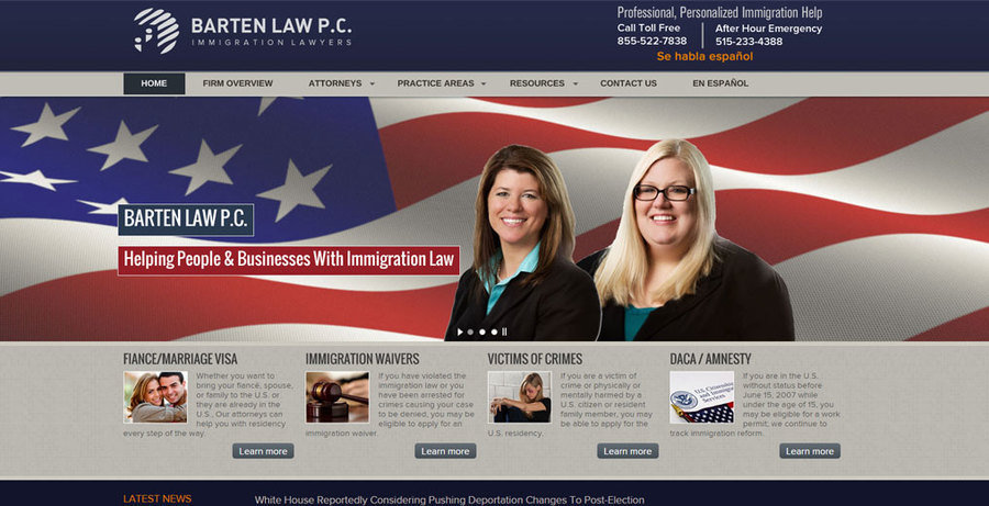 A great web design by Amplimark LLC, Des Moines, IA: