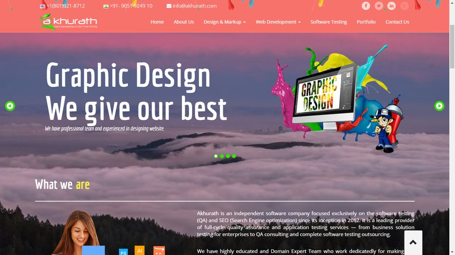 A great web design by Shiwani , Delhi, India: