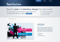 A great web design by Train Machine, Vancouver, Canada: