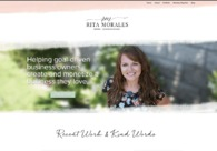 A great web design by Rita Morales, Los Angeles, CA: