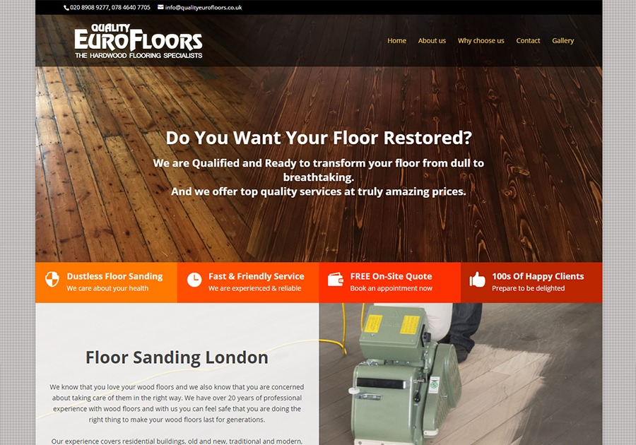 A great web design by Upvertising, London, United Kingdom: