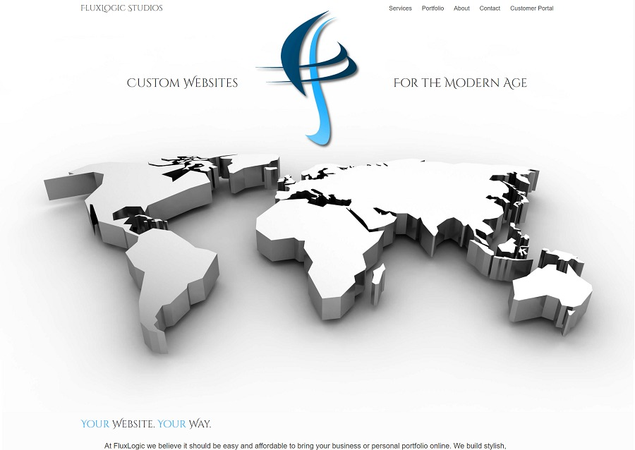 A great web design by FluxLogic Studios, LLC, Colorado Springs, CO: