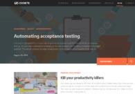 A great web design by Codete, Kraków, Poland: