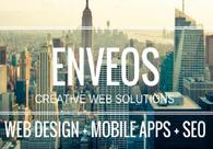 A great web design by Enveos Creative Web Solutions, Toronto, Canada: