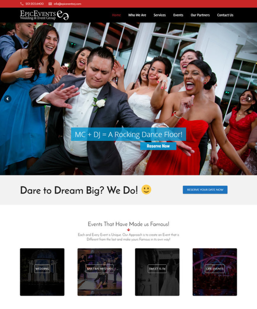 A great web design by DesignCloud24, Little Ferry, NJ: