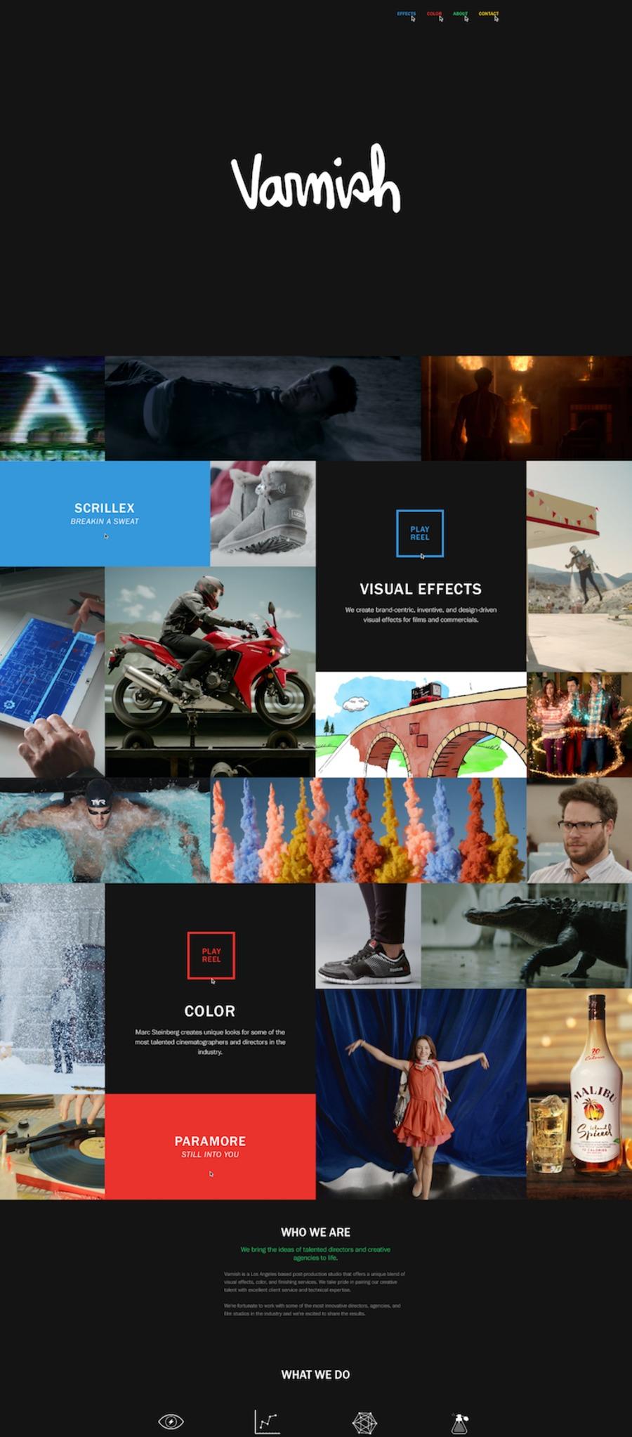 A great web design by WNDRMNT, New York City, VT: Responsive Website, Portfolio , Film & Video , Wordpress