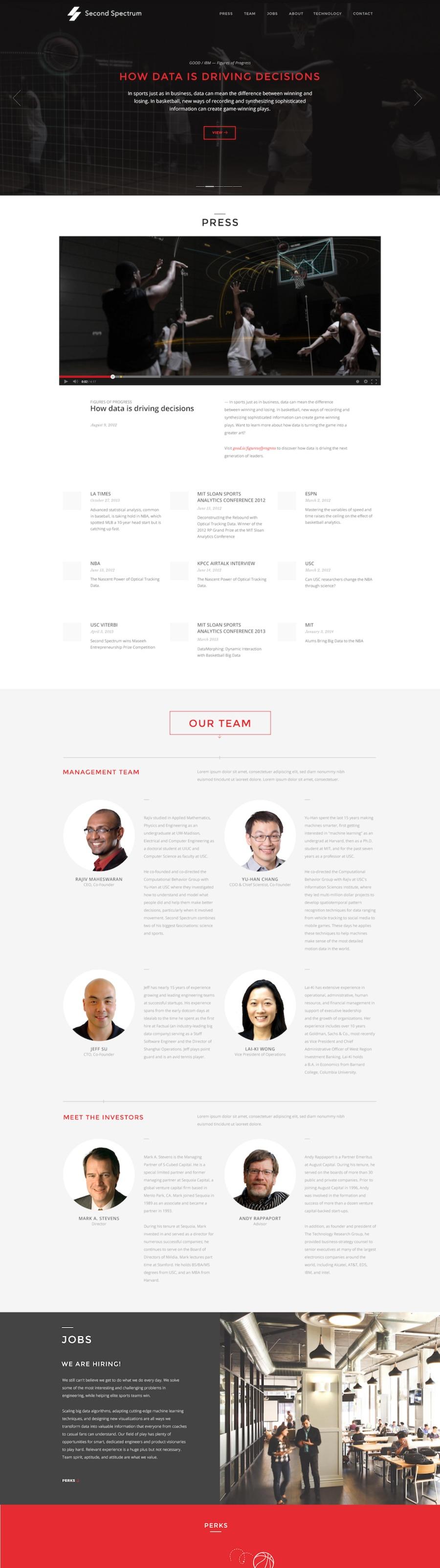 A great web design by WNDRMNT, New York City, VT: Responsive Website, Portfolio , Sports & Fitness , Design Only