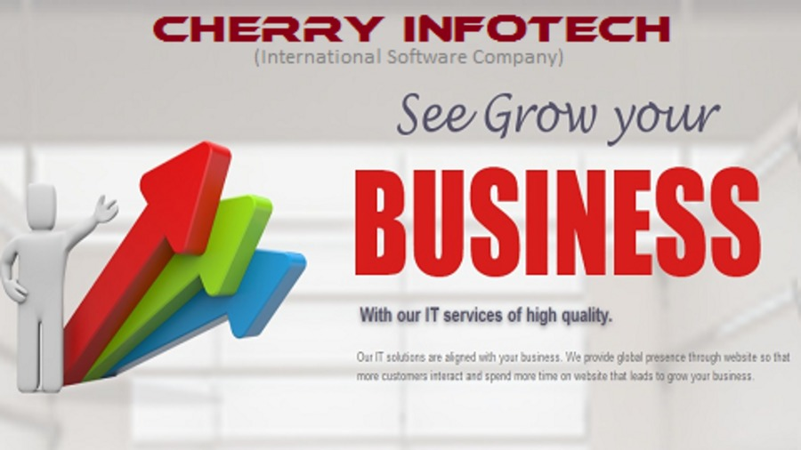 A great web design by CHERRY INFOTECH, New Delhi, India:
