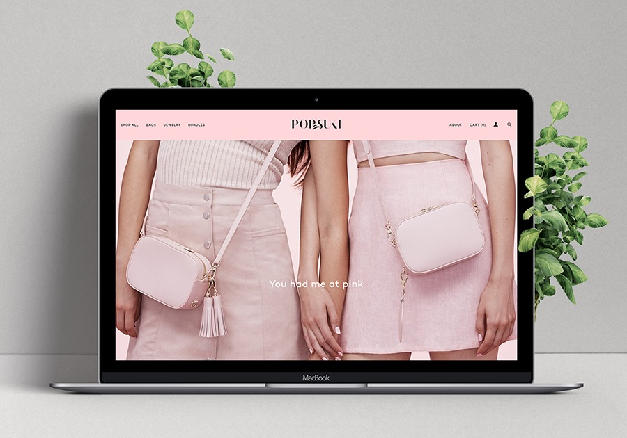 A great web design by Atoms & Pixels, Los Angeles, CA: Website, E-Commerce , Fashion , Other
