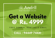 A great web design by Andril Web Technologies, Chennai, India: