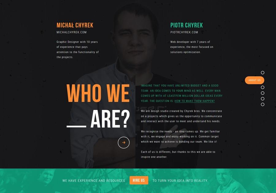 A great web design by Chyr.pl, Poznan, Poland: Responsive Website, Portfolio