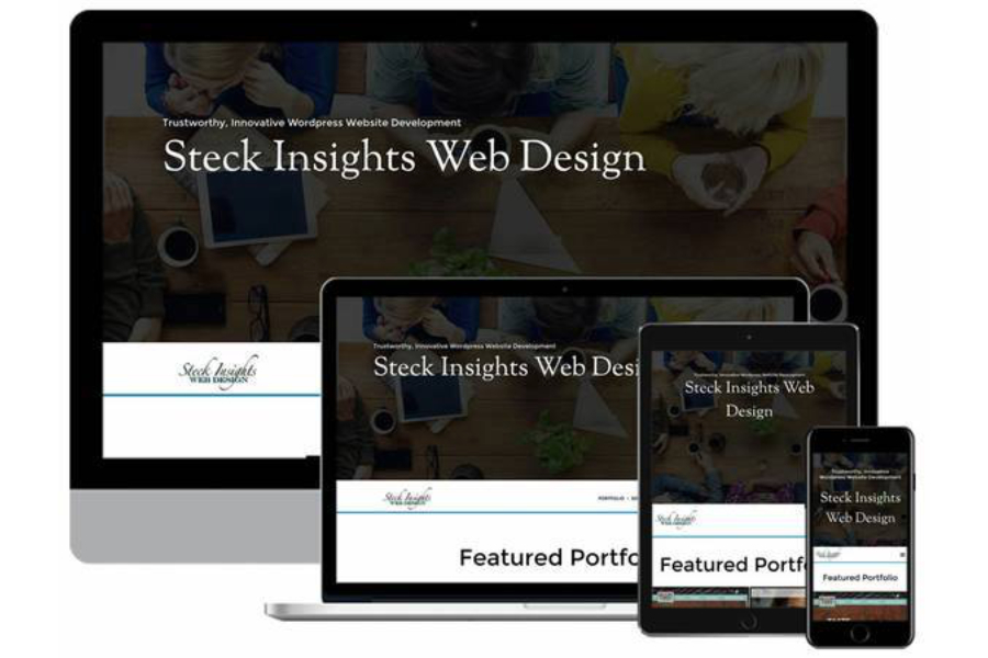 A great web design by Steck Insights, Colorado Springs, CO: Responsive Website, Wordpress