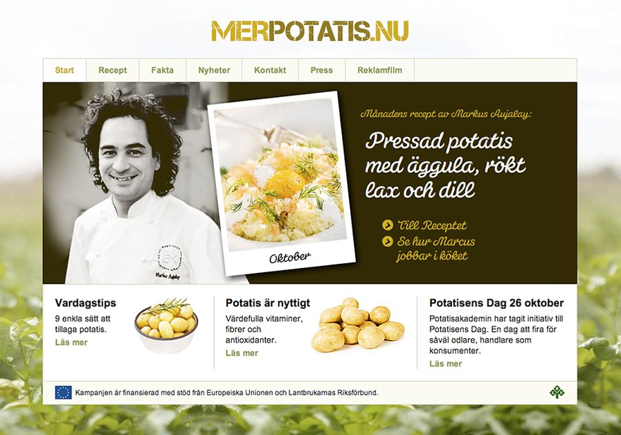 A great web design by Elwood Design, Stockholm, Sweden: