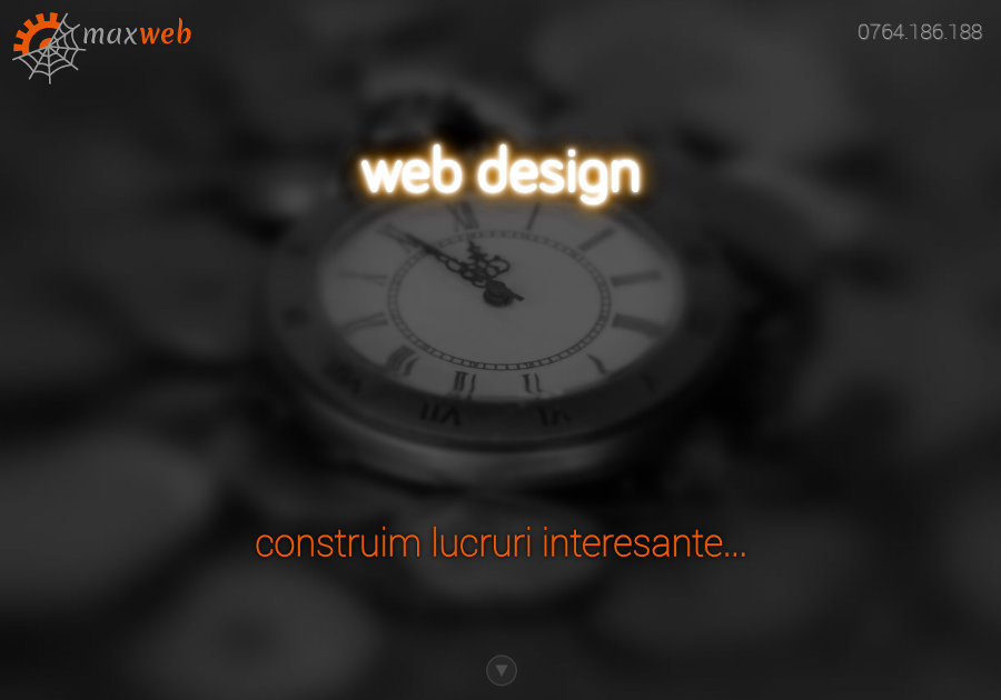 A great web design by Maxym Softinvest, Bucharest, Romania: