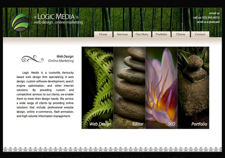 A great web design by Logic Media, Louisville, KY: