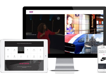 A great web design by GET THE PEOPLE, Brooklyn, NY: Responsive Website, Portfolio , Entertainment , Wordpress