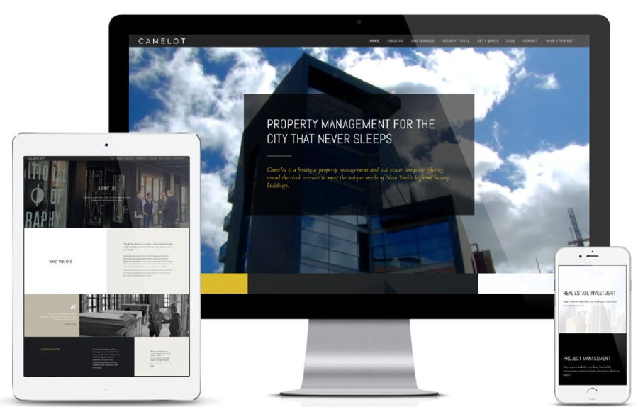 A great web design by GET THE PEOPLE, Brooklyn, NY: Responsive Website, Marketing Website , Real Estate , Wordpress