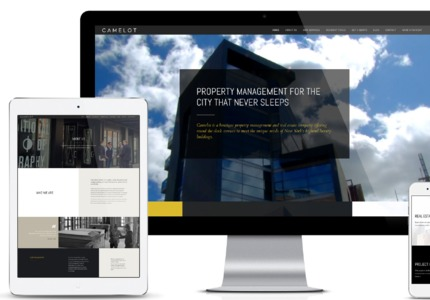 A great web design by GET THE PEOPLE, New York, NY: Responsive Website, Marketing Website , Real Estate , Wordpress