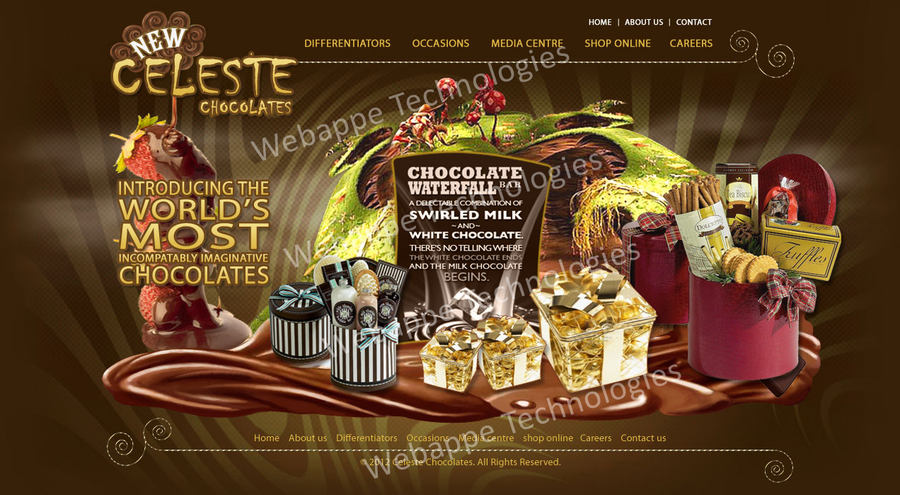 A great web design by Webaloons, Delhi, India: Responsive Website, Other, Internet , PHP