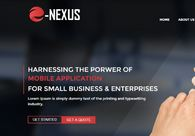 A great web design by E-Nexus Solutions, Birmingham, United Kingdom: