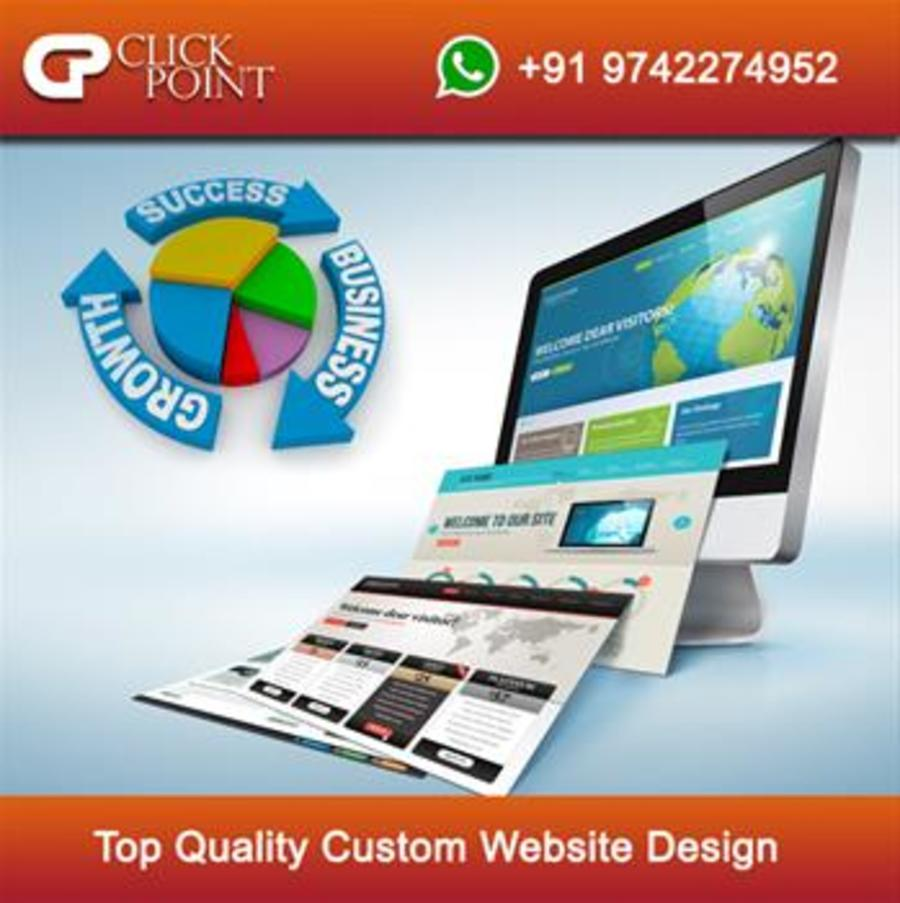 A great web design by Clickpoint Solution - A web designing company, Bangalore, India: