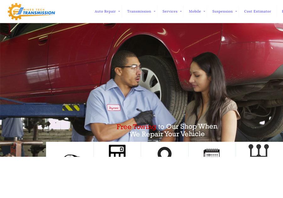 A great web design by Majestic Warrior, Phoenix, AZ: