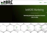 A great web design by beMORE Marketing, Denver, CO: