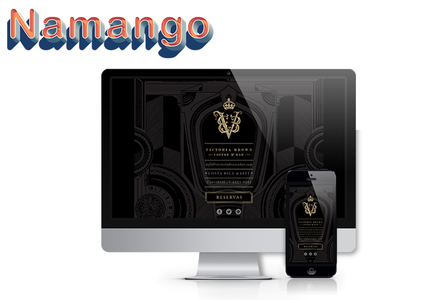 A great web design by Namango Web Development, Los Angeles, CA: Responsive Website, Food & Beverage