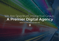 A great web design by Spectrum Interactive Group, Fort Collins, CO: