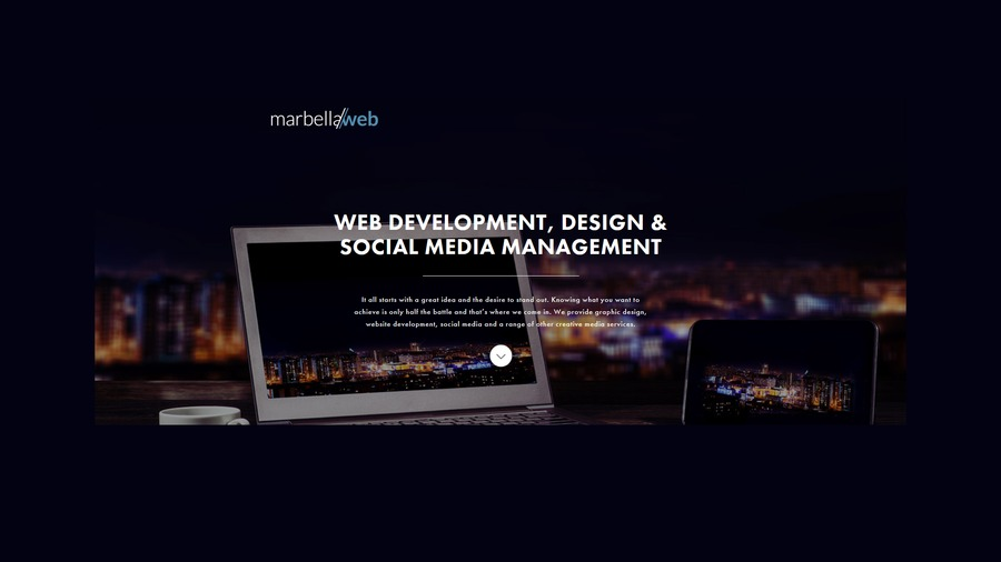 A great web design by www.marbella-web.com, Marbella, Spain: