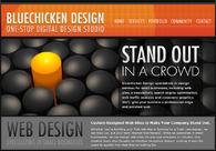 A great web design by Bluechicken Design, Boston, MA: