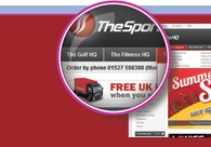 A great web design by DCSL Software Ltd, London, United Kingdom: Sports & Fitness