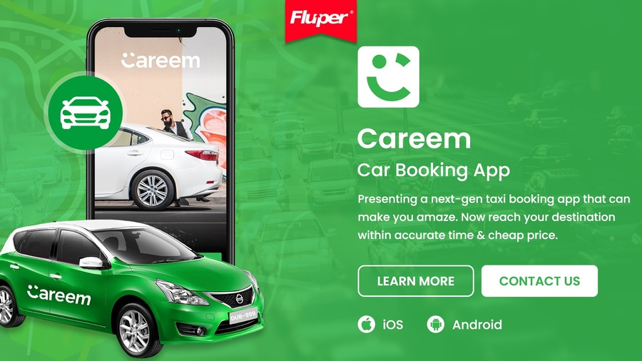 A great web design by Fluper, Noida, India: Mobile App , Other, Transportation , Android (Java)