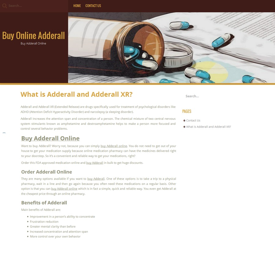 A great web design by Buy Online Adderall, United, PA: