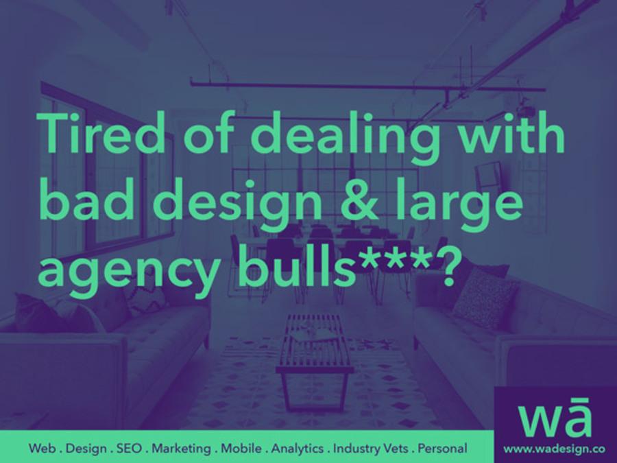 A great web design by wā Design Co., Houston, TX: