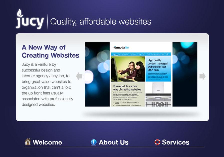 A great web design by Joshua Johnson, Phoenix, AZ: