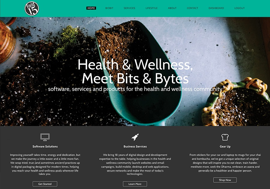 A great web design by Field15, Providence, RI: