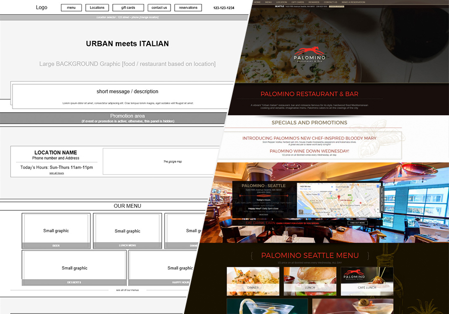 A great web design by Finesse WebDesign, Scottsdale, AZ: Responsive Website, Restaurants & Bars, PHP