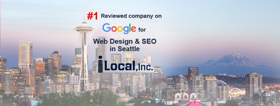 A great web design by iLocal, Inc. , Seattle, WA: