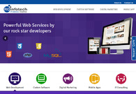 A great web design by RG Infotech, Noida, India: