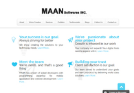 A great web design by MAAN Softwares INC, Lewes, DE: