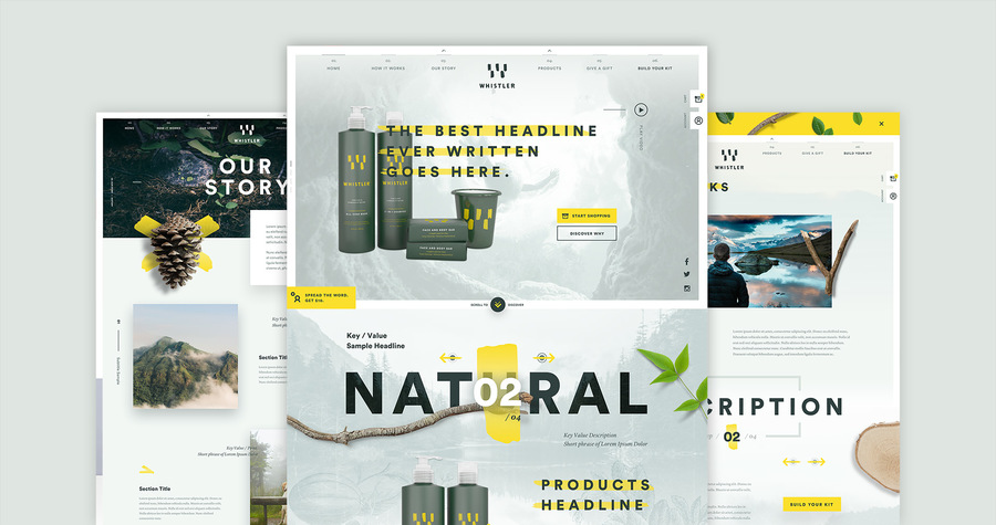 A great web design by Paper Tiger, New York, NY: Responsive Website, E-Commerce , Health & Beauty , Other