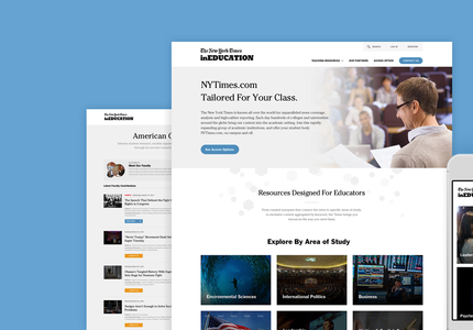 A great web design by Paper Tiger, New York, NY: Responsive Website, Publishing , Publishing , Wordpress