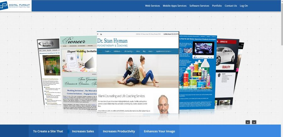 A great web design by Digital Pursuit, Florida, FL: