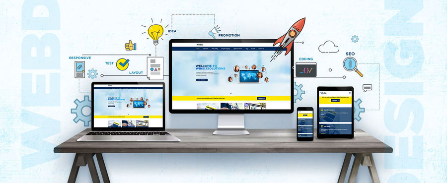 A great web design by Winbizsolutions, Bangalore, India: