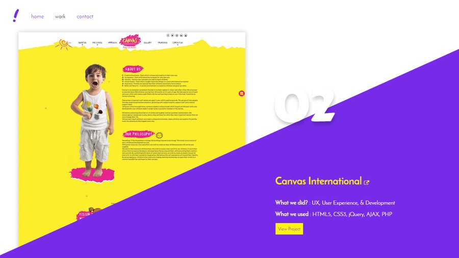 A great web design by Damn Perfect, Jaipur, India: