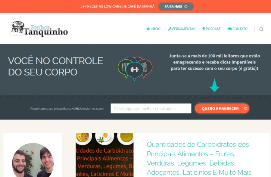 A great web design by Dieta Low-Carb Paleo Cetogênica, Brazilia, Brazil: