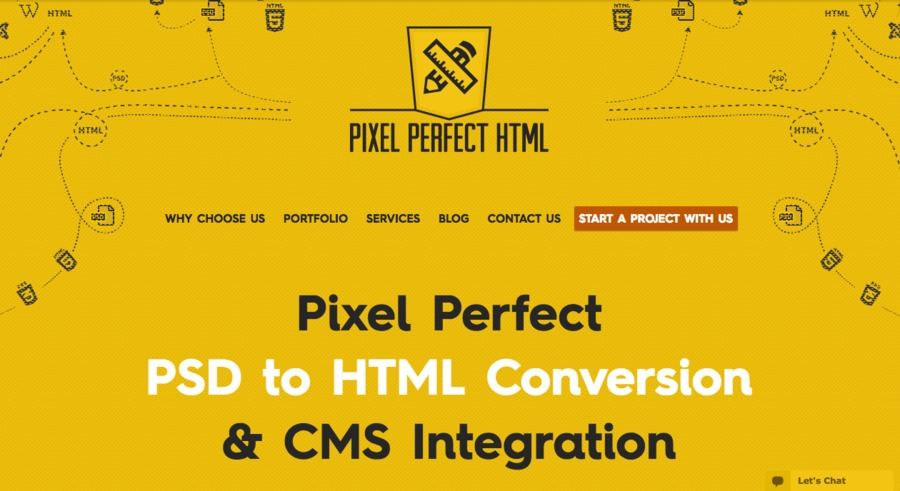 A great web design by Pixel Perfect HTML, Manassas, VA:
